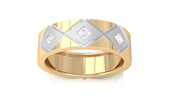 kreeli-Diamond Wedding Bands for Men