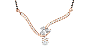 kreeli-Diamond Mangalsutras and Tanmaniyas